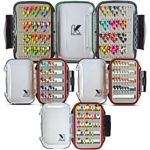 Tungsten Ice Jig Kits - Panfish Jigs, Waterproof Jig Box Included Free Shipping