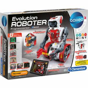 Roboter Clementoni 59031 Galileo Roboter Kinderspielzeug Technik Ingenieure