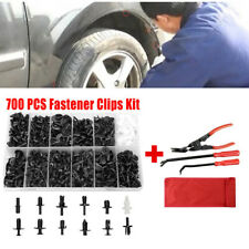 700x Car Body Accessories Push Pin Rivet Fasteners Trim Panel Mould Clip w/Tool