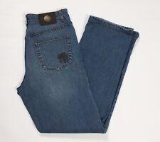 Trussardi jeans uomo W35 tg 48 49 regular dritti stretch standard usato T2463