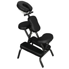 Portable Light Weight Massage Chair Leather Pad Travel Massage Tattoo Spa Chair