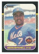 KEVIN MITCHELL 1987 Donruss ROOKIE #599 NM-MT MLB New York Mets