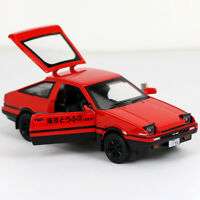 Diecast 1/28 Scale  Initial D Toyota TRUENO AE86 Model Car&Sound&Light Toy Gift