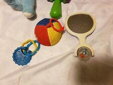 Lot Of Infant Toys Mirrors Bunny Hammer