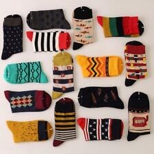 Mens Cotton  Socks Colorful Fashion Fancy Casual Sock Male-wedding