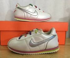 NIKE CORTEZ Shoes Baby Toddler Size 8C Pearl And Rainbow