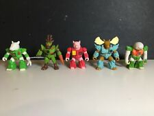 battle beasts Lot Of (5)  #33 #2 #62 #66 #58 Pig Deer Sloth Tapir  Hasbro Takara