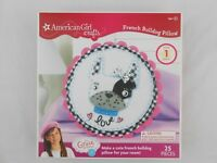 American Girl Crafts French Bulldog Pillow Kit Grace Thomas NEW NIB
