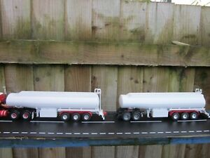 Drake/WSI Code 3 Aussie Tanker Road Train with 2 Tank trailers & Dolly