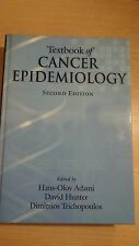 Textbook of Cancer Epidemiology -Ex Library Book, very good