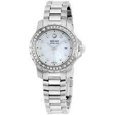 Movado Series 800 Diamond MOP Dial Ladies Watch 2600120