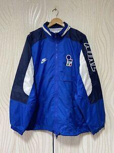 ITALY 1996 FOOTBALL SOCCER TRAINING RAIN JACKET NIKE sz XL