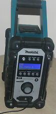 MAKITA 18V LXT BMR104 JOB SITE RADIO DAB FM/AM/AUX WORKING WITH MAIN & BATTERY