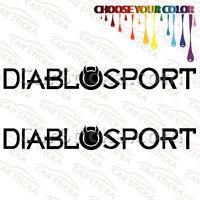 """2 of 8"""" DiabloSport Tuning /B aftermarket performance vinyl sticker decal diecut"""
