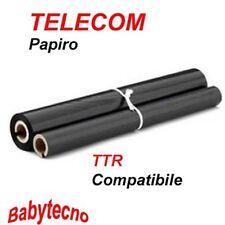 TTR Compatibile con FAX PAPIRO TELECOM NASTRO PFA 301 PHILIPS MAGIC 1 Telefax