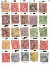 Australia early Collection of Used Stamps CV £75 1918 - 1930