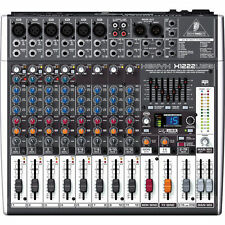 Behringer XENYX X1222USB 16 Channel Audio Mixer With USB