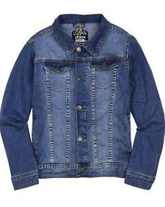 LOSAN Boys Basic Denim Jacket, Sizes 8-16