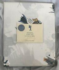 Pottery Barn Kids Batman and Robin Twin Sheet Set NWT NLA