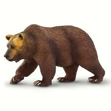 Grizzly Bear Wildlife Wonders Animal Figure Safari Ltd 100274  NEW IN STOCK
