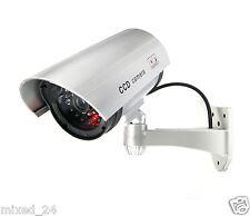 Dummy Überwachungskamera LED Fake Alarmanlage Attrappe Videoüberwachung CCTV