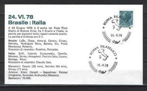 Soccer 1978 C89 used Cover Italy Football Rome