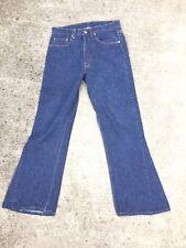 Vintage Levis Jeans 501 Boyfriend Fit Custom Bell Bottoms Dark 29 X 30