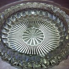 Antique Genuine Heavy Crystal Ashtray 2 For Sale
