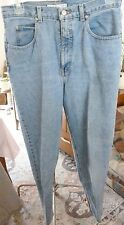 Woman'sGeoffrey Beene Classic Blue Denim Bootcut Jeans 100% Cotton Size 12