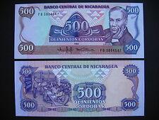 NICARAGUA  500 Córdobas 1985  (P155)  UNC