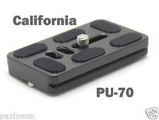 PU-70 Quick Release Plate Benro B0 B1 B2 J1 N1 Tripod Ballhead Arca Swiss PU70