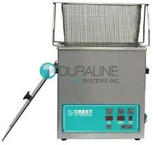 New Crest CP230D Digital Ultrasonic Cleaner w/Timer, Heater & Basket .75 Gallons