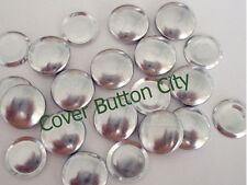 25 Cover Buttons Size 20 (1/2 inch) - Flat Backs