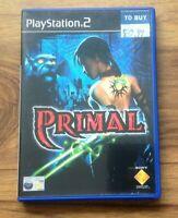 Primal (PS2 Sony PlayStation 2, 2003) PAL.Free UK Postage