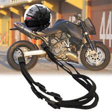 Motorcycle Bike Adjustable Cargo Helmet Luggage Net Holder With Buckle Chic Belt