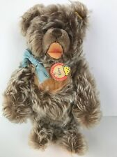 "Vintage STEIFF ZOTTY TEDDY BEAR Frosted 0300/23 German 10 1/2"" Button Tag EUC"