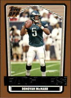 2007 Topps Draft Picks and Prospects Football Base Singles (Pick Your Cards)