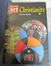 "Folens ""Christianity"" Art Pack-12 A3 pictures and a Teacher Resource Bk, KS2 & 3"