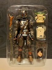 Star Wars Vintage Collection #177 The Mandalorian Din Djarin And Child *Loose*