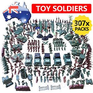 New 307x Soldier Model Army Men Grenade Tank Aircraft Rocket Sand Scene Kids