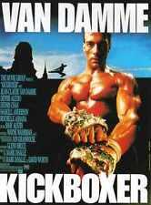 Kickboxer Poster 02 Metal Sign A4 12x8 Aluminium