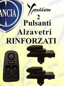 2 Pulsanti RINFORZATI pulsantiera LANCIA Y (843) 735360605 alzavetri finestrini