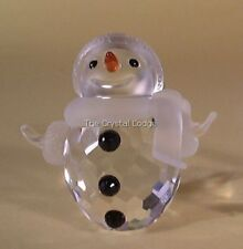 SWAROVSKI CRYSTAL SNOWMAN 250229 MINT BOXED RETIRED RARE