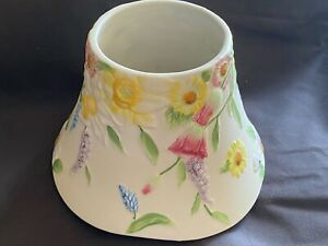 Yankee Candle Jar Candle Large Topper Shade - BEAUTIFUL FRESH FLOWERS