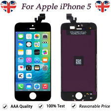 For iPhone 5 5G LCD Screen Replacement Touch Display Digitizer Assembly Black UK