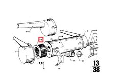 Genuine BMW 02 NK Coupe Sedan Wagon Engine Air Filter Insert OEM 13721254660