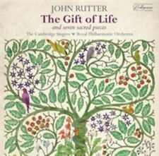 John Rutter - The Gift of Life; Seven Sacred Pieces (CD 2015)   EXCELLENT