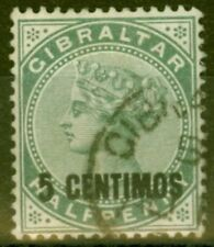 Used F (Fine) Gibraltarian Stamps
