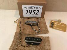 Virgil Arlo 1952 Telecaster Pickups - Fits Fender Tele - WHITE LABEL - 2017