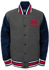 NCAA Mississippi Old Miss Rebels Youth Boys Letterman Varsity Jacket Medium